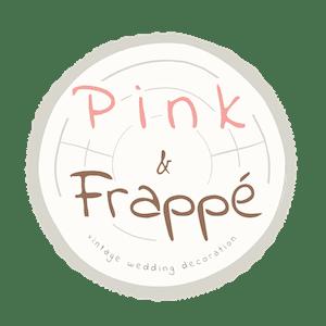 Pink And Frappe - Vintage Esküvői Dekoráció